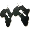 Black africa ankh earrings rebeljewel