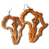 brown-africa-map-woman-lady-wood-earrings-jewellery-7