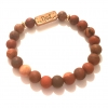beads charm brown dad father's day bracelet rebeljewel rebel jewel