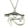 eye of horus pendant chain fashion necklace for women rebeljewel