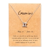 gemini charm pendant necklace rebeljewel rebel jewel