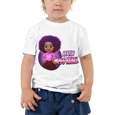 Little Miss Rebel Children T-Shirt Rebel Jewel