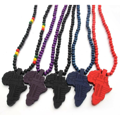 rasta black africa african wood wooden fashion necklace rebeljewel rebel jewel