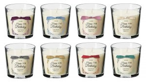 Happy Birthday Gift Present Personalised Candle Amazon