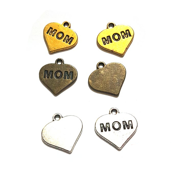 Mothers Day Mum Mother Mom Charms Pendants Etsy Rebel Jewel RebelJewel