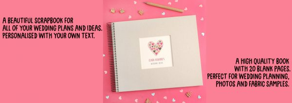 Personalised Wedding Plans Scrapbook Amazon Handmade
