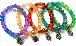 Rebel Jewel Handmade Beads Stretch Bracelet Bangles Wristbands RebelJewel Amazon