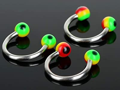 rasta horseshoes body jewellery piercing rebeljewel rebel jewel (2)