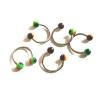 rasta horseshoes body jewellery piercing rebeljewel rebel jewel