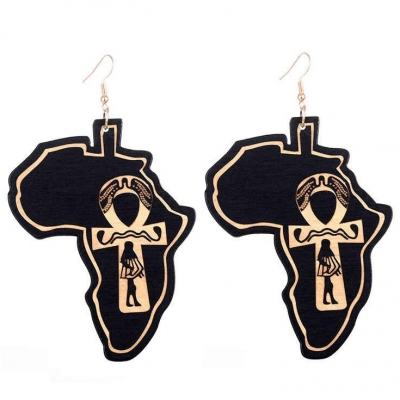 black africa ankh drop earrings rebeljewel rebel jewel jewelry