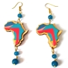 wood africa beads earrings rebeljewel rebel jewel