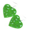 wooden heart earrings wood jewellery rebel jewel