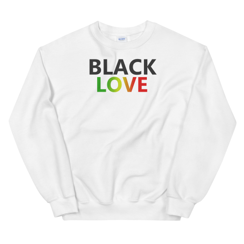 black love jumper