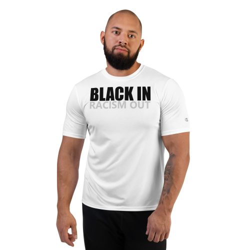 black in racism out #blackin