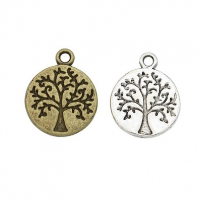 beads of life tree charms silver bronze pendants rebeljewel rebel jewel (6)
