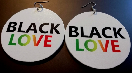 rasta black love original designs rebeljewel white round earrings rebel jewel (12)