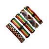 rasta colours men bracelet extendable bangle rebel jewel rebeljewel