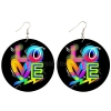 round graffiti love earrings rebeljewel missrebeljewel rebel jewel