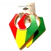 semi circle triangle rasta red yellow green wood large earrings gold trims rebel jewel rebeljewel jewellery jewelry (7)