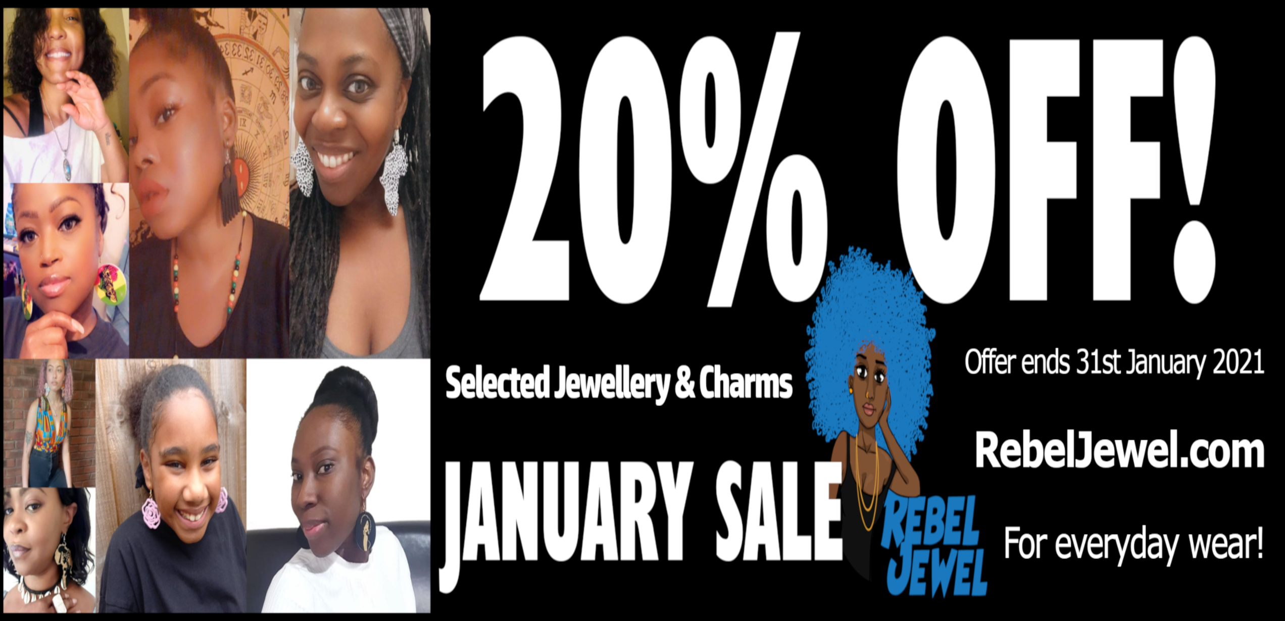 january sale 20 off rebel jewel jewellery charms africa ankh rasta earrings bracelets necklace