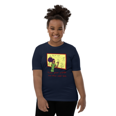 navy red green blue pink duafe adinkra afro comb maths know your worth tee t-shirt shirt rebeljewel missrebeljewel rebel jewel